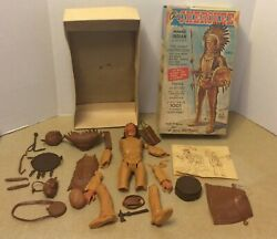 Vintage Marx 2063 Chief Cherokee Indian Parts From Johnny West Series As Is