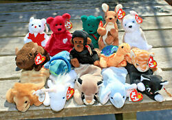 Ty Beanie Babys Lot Of 15 With Tags Lot 3