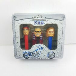 2006 Pez Occ Orange County Choppers Limited Edition Collectorand039s Tin Gift Set