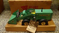 Rare 1956-1958 Vintage Nylint 1600 Hough Co. Payloader Construction Tractor Box