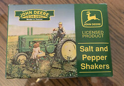 John Deere Tractor Salt And Pepper Shakers Model A Tractor Brand New