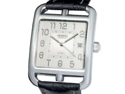 Hermes Cape Cod Cd6.710 Ss Auto Menand039s Watchf2698