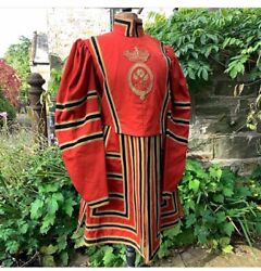 A Rare Tower Of London Beefeater Yeoman Warden Guards Tunic 1900 Uniform
