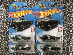Hot Wheels Rodger Dodger Magic 8 Ball Lot Of 4 Most Likely 2021 D Case Black