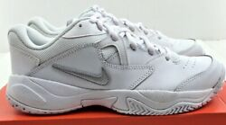 New Nike Womenand039s Court Lite 2 White Leather Athletic Style Ar8838 101 Nwd