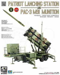Afv Club Af35s93 Patriot Lanching Station And Pac-3 M91 Munition The Plasti