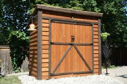 Outdoor Living Today Gardensaver Cedar Shed 8and039x4and039 Or 12and039x4and039 With Door Options