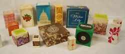 Vintage 1970s, Avon Perfume Fragrance Cologne Bottles, Lot Of 15 With Boxes