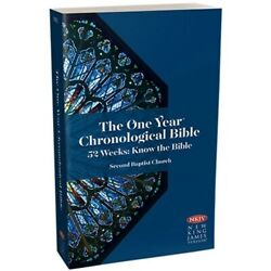 The One Year Chronological Bible By Tyndale House  nkjv Version new