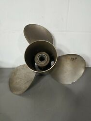 Mercury Outboard 14 X 19 Pitch Right Hand Propeller 19p 48-16316-19 Quicksilver