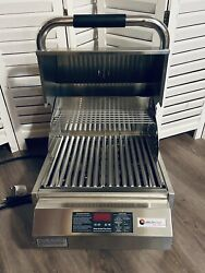 Electri Chef 4400 Series 16 Inch Built-in Electric Outdoor Grill And Warming Rack