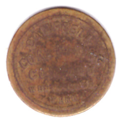 Campbell Coal Mining Co Scrip 5c Westbourne Tennessee Tn Lafollette R9 Token C