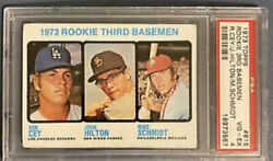 Mike Schmidt And Ron Cey 1973 Topps Rookie Card 615 Investment Card🔥psa 4 Vg-ex