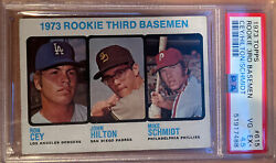 Mike Schmidt And Ron Cey 1973 Topps Rookie Card 615 Investment Card🔥psa 4.5 Ex+