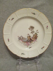 Ludwigsburg Porcelain Scenice Plate 1700and039s 1