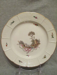 Ludwigsburg Porcelain Scenice Plate 1700and039s 2
