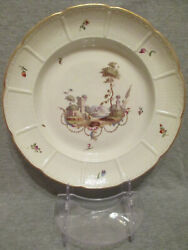 Ludwigsburg Porcelain Scenice Soup Plate 1700and039s 1