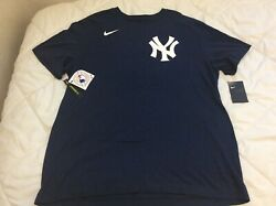 New Men's New York Yankees NIKE Tee MLB Genuine Merchandise Standard Fit