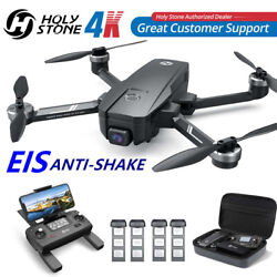 Holy Stone Hs105 Hs720e 4k Eis Camera Gps Rc Drone 5g Brushless Quadcopter +case