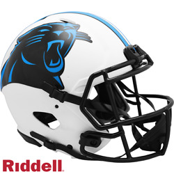 Carolina Panthers Lunar Eclipse Speed Full Size Authentic Pro Football Helmet