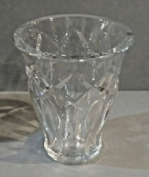 Fabulous Antique Baccarat Crystal Vase 8 Tall Made In France Mg