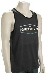 Quiksilver Clear Mind Tank - Charcoal Heather - New