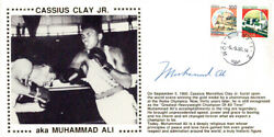 Muhammad Ali Authentic Autographed Signed First Day Cover Psa/dna Ab06482
