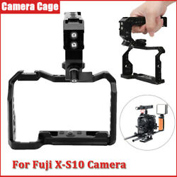 Camera Cage Frame Protective Housing Case 3/8in 1/4in Screw Holes For Fuji X‑s10