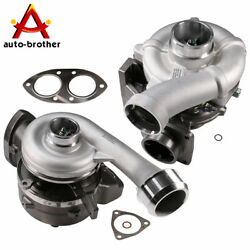 High And Low Pressure Turbochargers For Ford F-250 F350 F450 F550 6.4l 2008-2010
