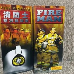 Gi Joe Firefighter Fireman And Special Rescue Team Fire Fighter 2 Body Set