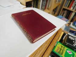 Poetical Works Of Percy Shelley Oxford Edition 1905 Full Leather Vg