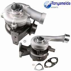 For 08-10 F350 450 6.4l Powerstroke Diesel Turbo Charger High And Low Pressure