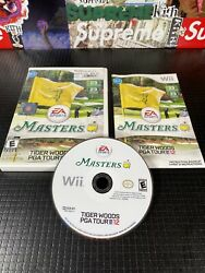 Tiger Woods Pga Tour 12 The Masters Nintendo Wii 2011 Complete And Tested