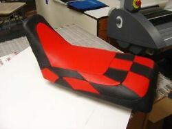 Fits Honda Trx 250r Seat Cover Checkered Red Black Color Fetr4et43t4t