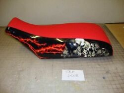 Fits Honda Atc 250r Seat Cover 1985 To 1986 Red Black And White Lighting Side H82