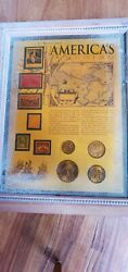 American Historic Society Coins And Stamps Collections