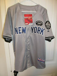 Alex Rodriguez - New York Yankees Authentic Jersey - Majestic Adult 50 Nwt