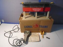 Lionel Postwar 465 Dispatching Station With Original Box And Instructions