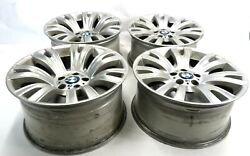 2007-2013 Bmw X5 E70 19x9 Front / 19x10 Rear ///m Sport Spoke Wheel Rim Set