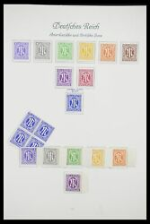 Lot 33361 Stamp Collection Germany 1945-1955.