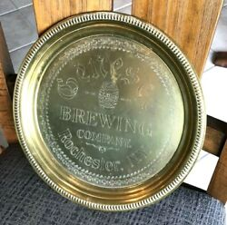 Vintage Pre-pro Genesee Beer - Brewing Metal Tray Rochester Ny Excellent Cond