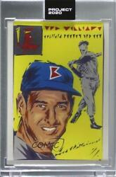 2020 Topps Project /1734 Ted Williams Naturel 315 Hof