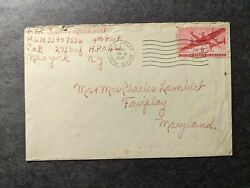 Apo 461 Diez Germany 1945 Wwii Army Cover 275th Infantry Soldierand039s Mail
