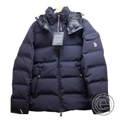 Moncler Grenoble Montgetech Hooded Down Jacket 3 Navy