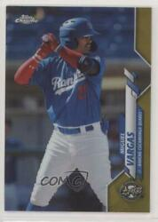 2020 Topps Pro Debut Chrome Gold Refractor /75 Miguel Vargas Pdc-98