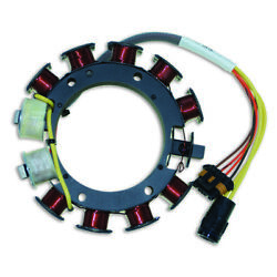 Stator For Johnson Evinrude V4 Optical 20 Amp 80-115hp 1994-06 Replaces 584849