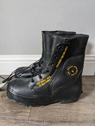 Cold Weather Military Mickey Mouse Boots Size 10 Wide