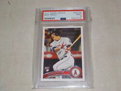 2011 Topps Update Mike Trout Rookie Card Us175 Graded Psa 9 Mint Rare C16