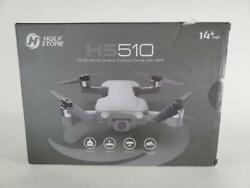 Holy Stone Hs510 Gps Drone For Adults With 4k Uhd Wifi Camera Grey Preowned