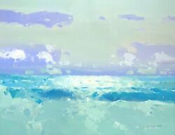 Ocean Breeze Original Oil Painting Large Size Painting One Of A Kind